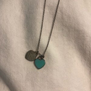 Jewelry - Sterling silver Tiffany necklace